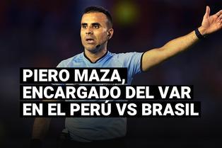Piero Maza, encargado del VAR en el Perú vs Brasil, y la razón por la que estuvo inactivo en Chile