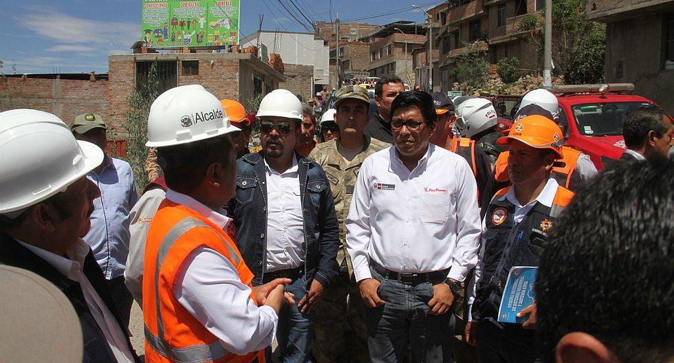 Premier y tres ministros arribarán mañana a Arequipa