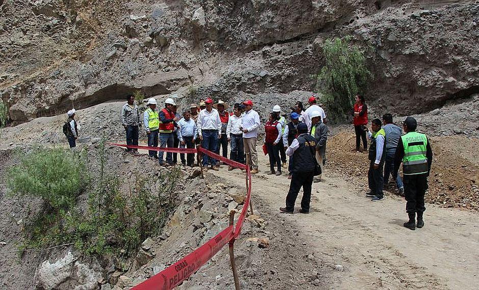 Mandatario anuncia proyecto arqueológico en Pampa la Cahua