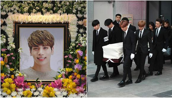 Jonghyun: miembros de SHINee lo despidieron en funeral masivo (FOTOS)