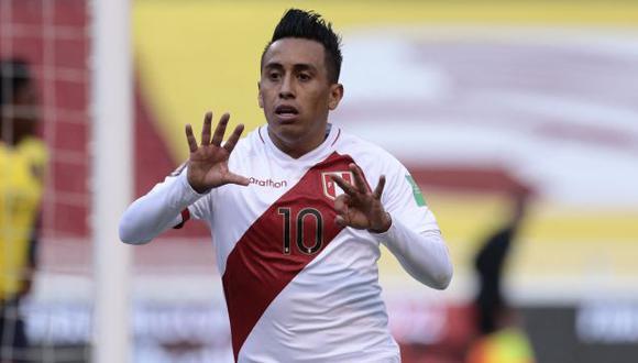 Christian Cueva fue titular ante Brasil por Copa América y jugó 73 minutos. (Foto: AFP)