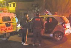 Policía Nacional desarticuló nueve bandas delictivas