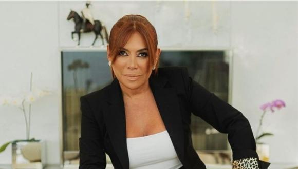 Magaly Medina anunció que se separó de Alfredo Zambrano en la noche del martes 30 de marzo. (Foto: Instagram @magalymedinav)