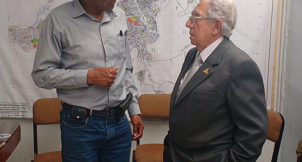 Alcalde de Jacobo Hunter se reunió con su futuro reemplazante