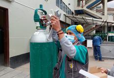 400 asegurados con COVID-19 y males crónicos reciben oxígeno medicinal en sus casas en Cusco