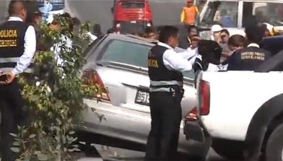 Policía abate a delincuente que intentaba huir en Villa El Salvador (VIDEO)