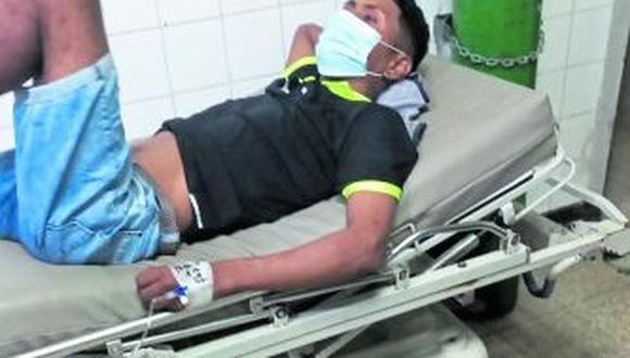 """La Policía está tras los pasos de alias """"Quemao"""", quien habría disparado contra Adrián Sandoval."""