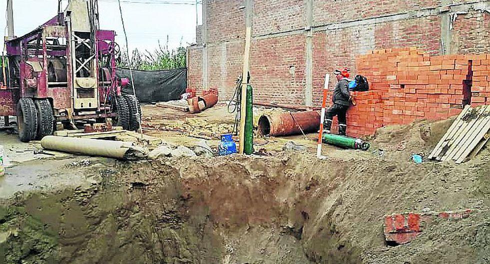 Nuevo pozo daría 12 horas de agua a Parcona