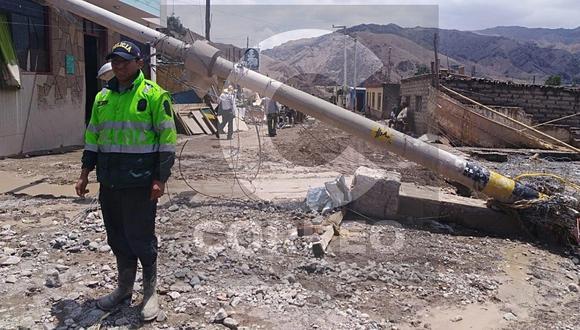 Se confirma la muerte del niño de 4 años desaparecido en Huaico caído en Tacna