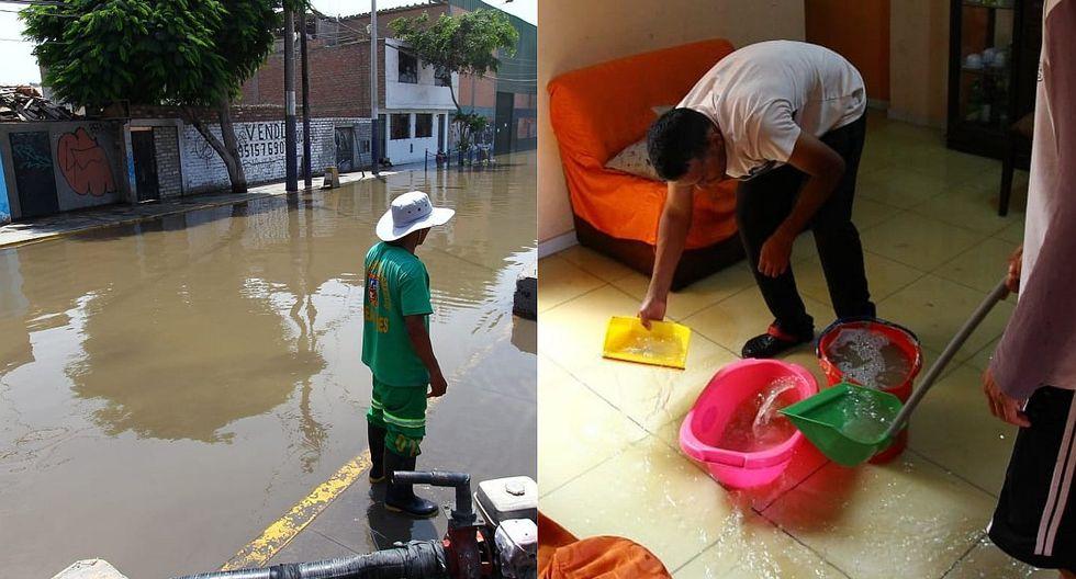 Chorrillos: Aniego causa grandes pérdidas en vivienda (VIDEOS Y FOTOS)