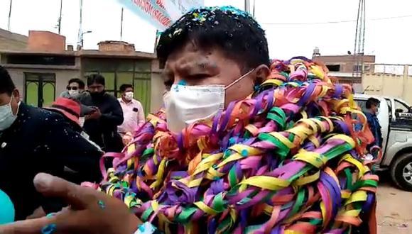Gobernador regional provisional de Puno, Agustín Luque Chayña. (Foto: Difusión)