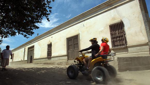 La práctica de deportes de aventura es una de los atractivos de Lunahuaná. (Foto: GEC)