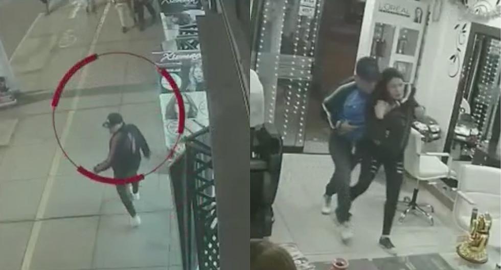 Delincuentes asaltan spa y amenazan a dueña con matar a su pequeña hija (VIDEO)