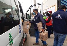ODPE Tacna inició despliegue de material electoral a 197 centros de votación