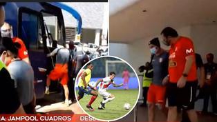 Selección peruana: Gianluca Lapadula presenta molestias al caminar pero descartan gravedad en lesión