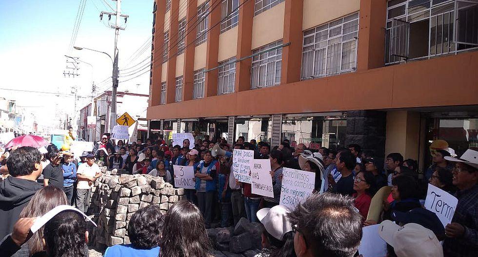 Cierre de calle San Juan de Dios afectaría a 20 mil arequipeños