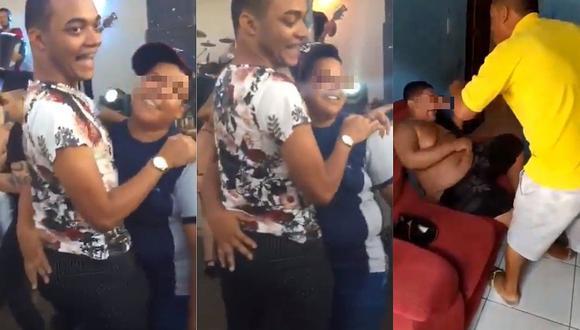 Padre homofóbico azotó a su hijo por bailar con otro hombre y genera indignación (VIDEO)