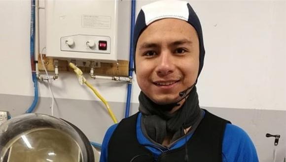 Estudió Ingeniería Mecatrónica en universidad trujillana y estará viviendo en aislamiento junto a los integrantes de esta primera tripulación latinoamericana.