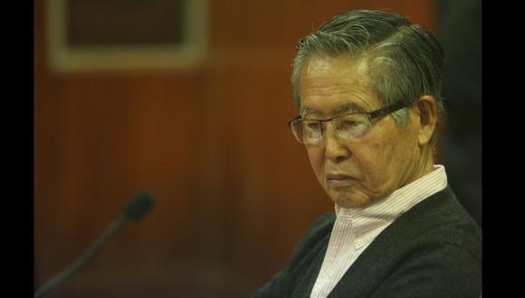 Alberto Fujimori fue internado el viernes por la tarde en la clínica Centenario Peruano Japonesa de Pueblo Libre a causa de baja saturación de oxígeno. (GEC)