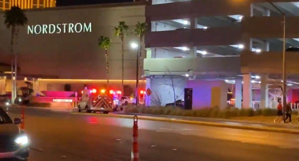 Tiroteo en Las Vegas deja varios heridos. (Twitter)