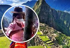 Denuncian que persona con polleras fue impedida de pasear por Machu Picchu (FOTOS)