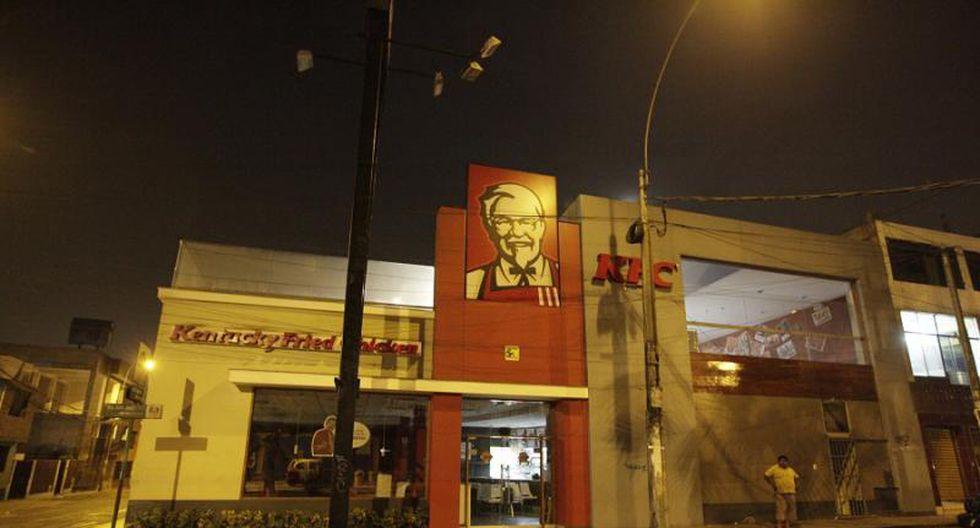 Asaltan KFC en San Juan de Miraflores