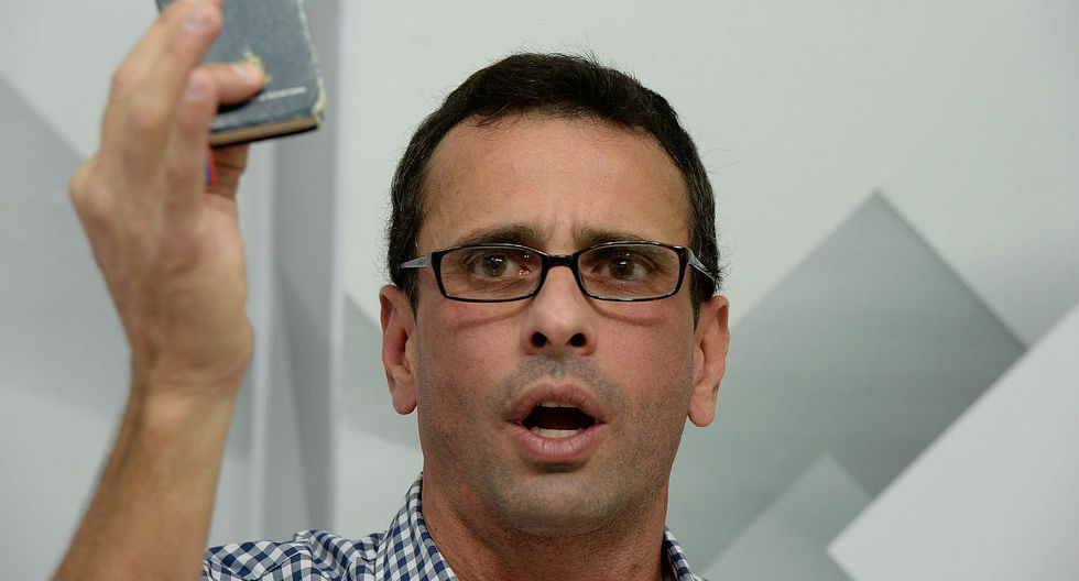 Venezuela: Henrique Capriles anunció marcha por revocatorio (VIDEO)