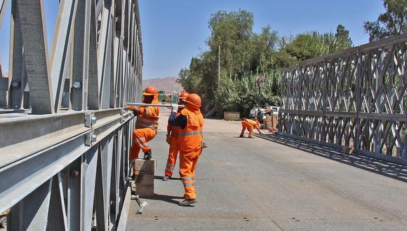 Pasco: Mantenimiento de vías vecinales y puentes generará 20 mil puestos de trabajo a través de programa Arranca Perú . (foto referencial)