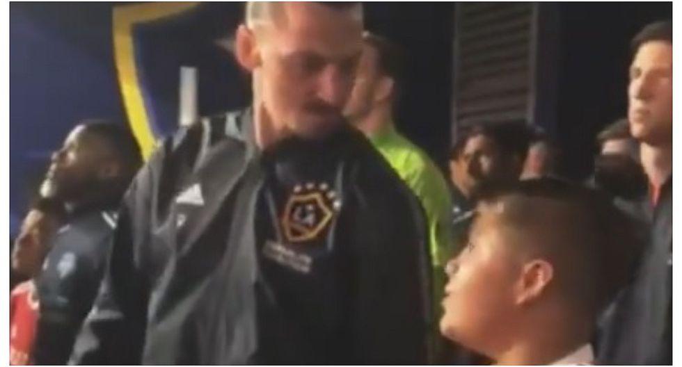 Palabras de Zlatan Ibrahimovic a un niño se viralizó en redes sociales (VIDEO)