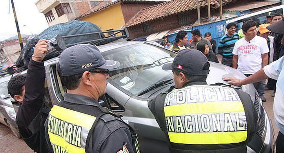 Detienen a chofer por intentar sobornar a policía en Cusco