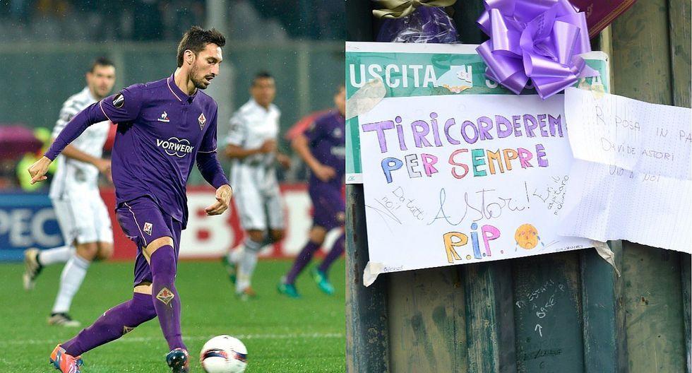Confusión sobre la posible renovación de la Fiorentina al fallecido Davide Astori