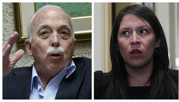 """Carlos Tubino a Vilcatoma: """"Si considera que debe derogarse ley 30737 que presente proyecto"""""""