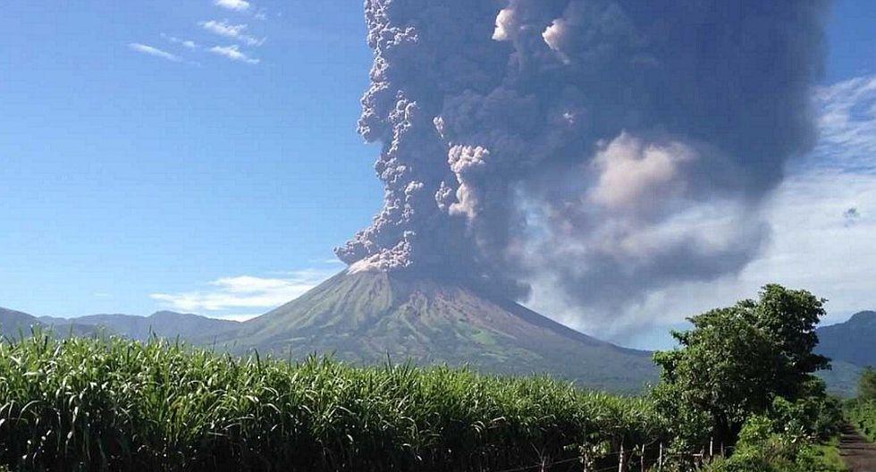 Nicaragua: Volcan San Cristóbal arroja cenizas, gases y rocas
