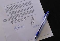 Este es el decreto supremo con el que Martín Vizcarra convocó a elecciones para el 11 de abril