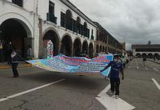 Población de San José de Ticllas consume agua de acequia y pide proyecto de agua potable