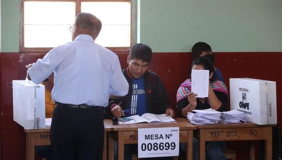Piero Corvetto, jefe de la ONPE; señaló que se está implementado personal adicional en las elecciones generales del 11 de abril para hacer respetar los protocolos contra el coronavirus. (Foto: Andina)
