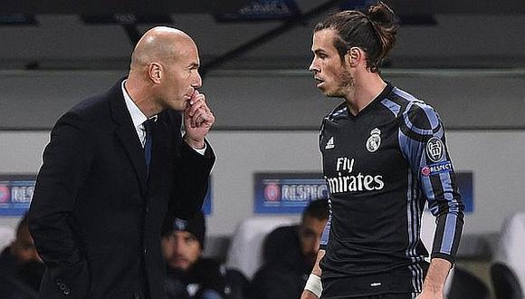 Zidane se pronunció sobre la situación de Bale en Real Madrid