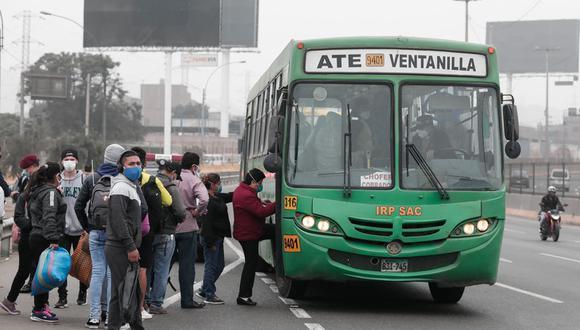 ATU: Aprueban reglamento para brindar subsidio a empresas de transporte