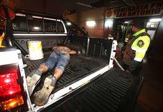 Sujeto quedó atrapado en ducto de un edificio cuando huía de la policía en Surquillo