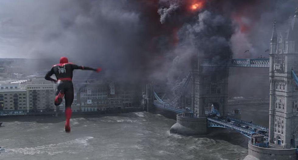 Lanzan el primer tráiler de Spiderman: Far From Home (VIDEO)