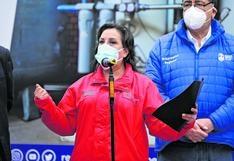 "Dina Boluarte: ""Es muy probable"" que Pedro Castillo remueva a Iber Maraví"