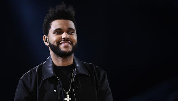 The Weeknd manifestó su alegría por ser la estrella principal para el evento deportivo más importante de Estados Unidos. (Foto: AFP).