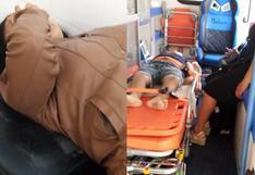 Madre e hijo que paseaban en cuatrimoto se estrellan contra muelle de Pimentel en Chiclayo