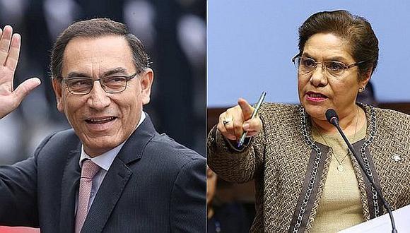 Luz Salgado critica a Martín Vizcarra por no mencionar a César Villanueva en su discurso en CADE
