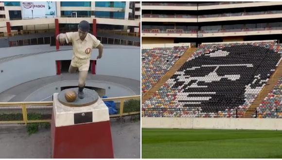 Copa Libertadores: Conmebol rindió homenaje a 'Lolo' Fernández (VIDEO)