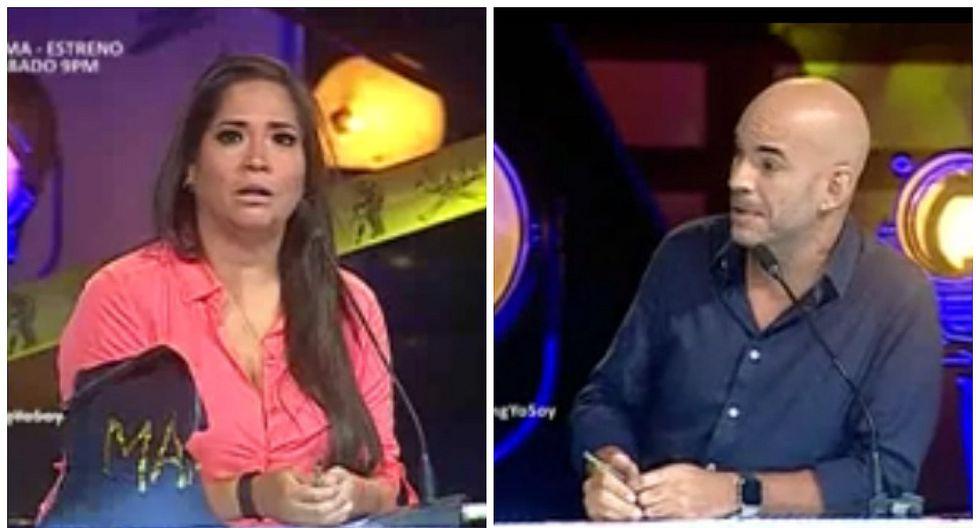 ¡No lo creerás! Esta fue la reacción de Katia Palma después de que Ricardo Morán la regañó en vivo (VIDEO)