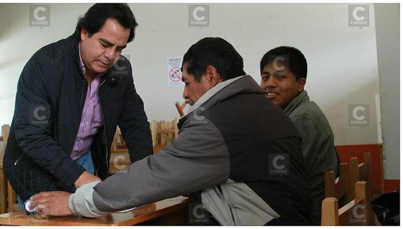 """Alcalde de Huancayo: """"Espero que ofrecimientos no hayan sido solo de campaña electoral"""" (VIDEO)"""