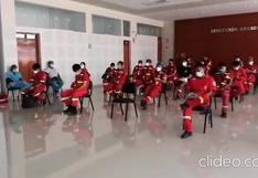 Tacna: continúa proceso de vacunación a bomberos contra el COVID-19 (VIDEO)