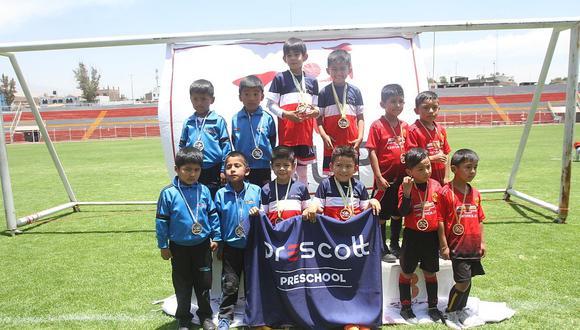 Clausuran Copa Bebe 2019 que reunió a más de 1000 menores