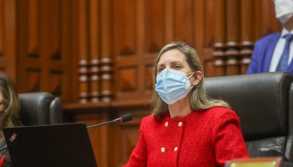 María del Carmen Alva propuso una fecha para el encuentro con Mirtha Vásquez (Foto: Congreso)